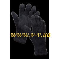 Перчатки рабочие без покрытия двойные V-V