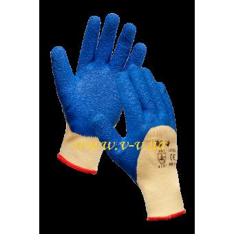 """Перчатки рабочие латексные  """"Пена"""" V-V"""